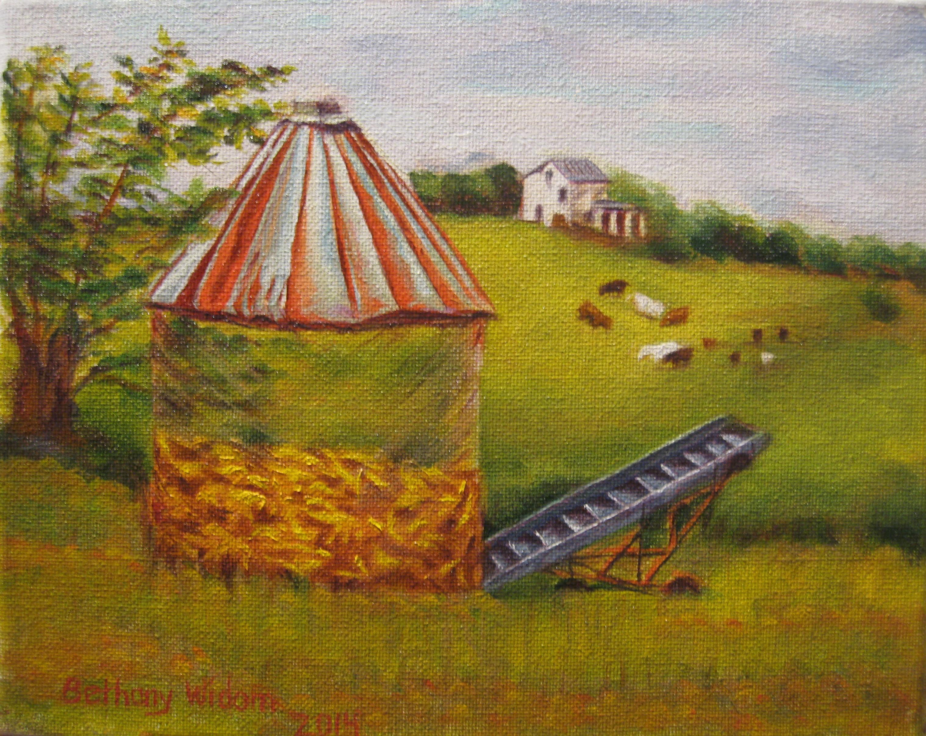 Corn Crib Talbot Farm 8x10