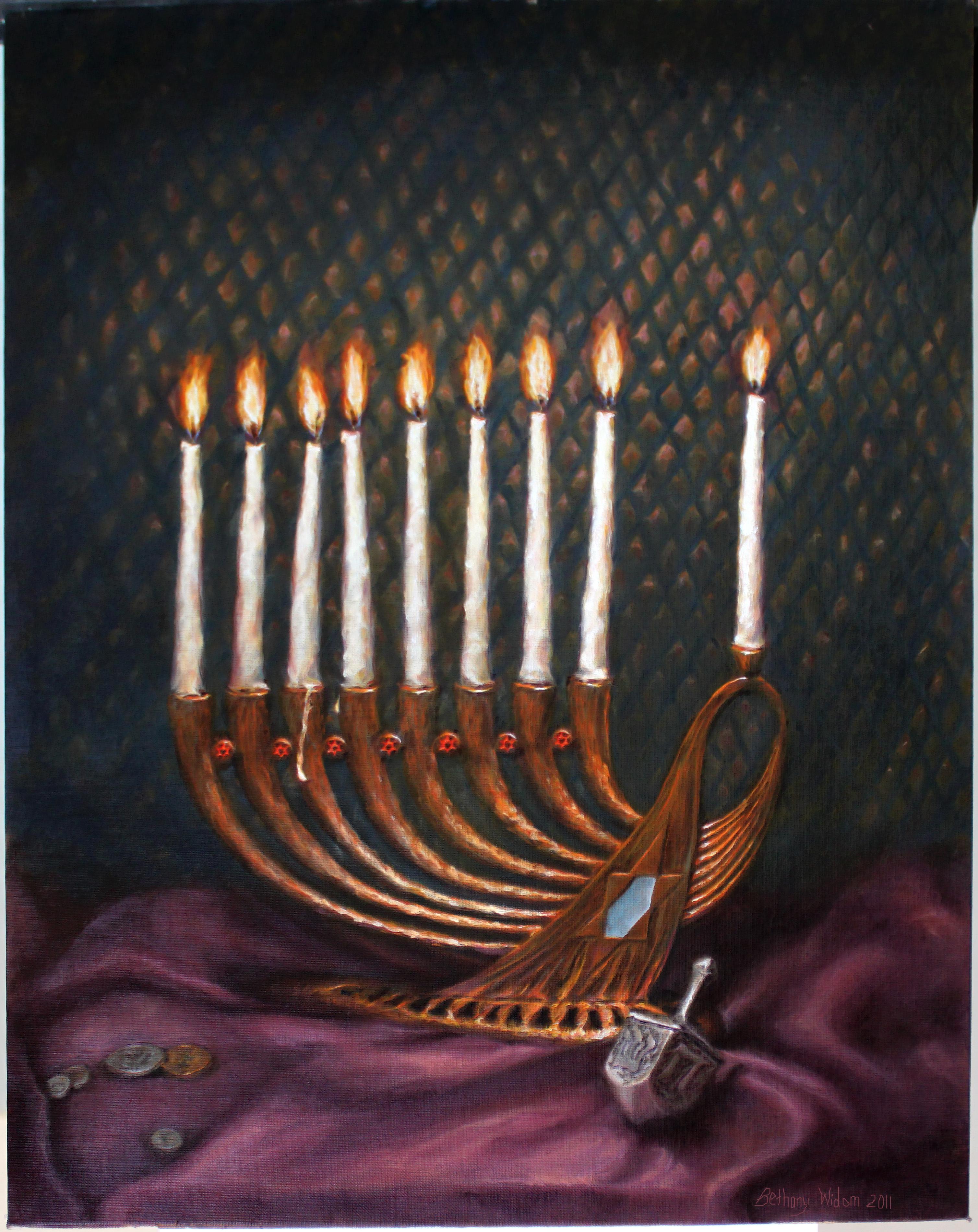 Miriam's Chanukah 16x20