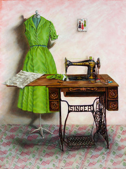 A Dress For Winifred 18x24