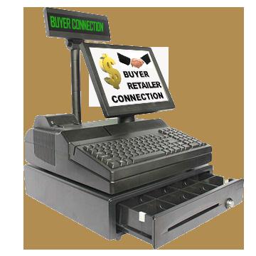 Cash Register bUYER cONNEXTION any ALPHA