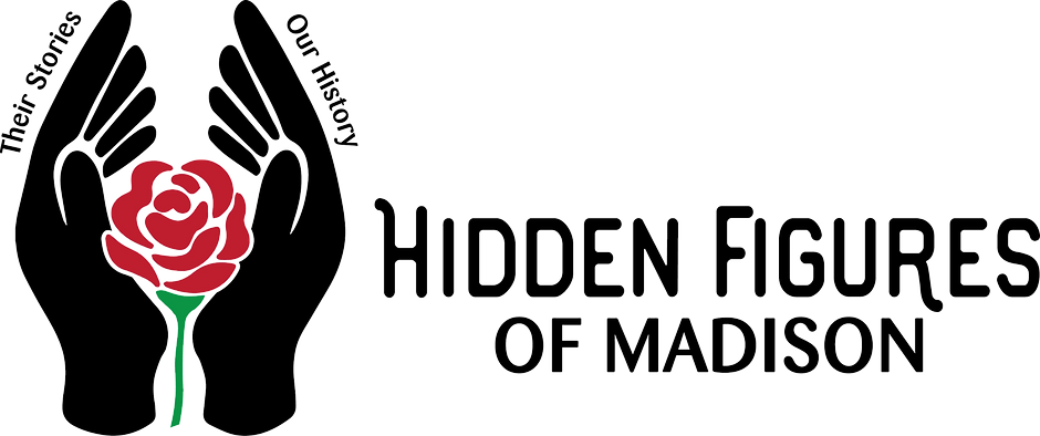 Logo of Hidden Figures of Madison. Their Stories, Our History.