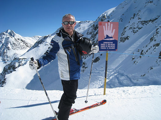 Skiing Sankt Anton, Arlberg, Tyrol
