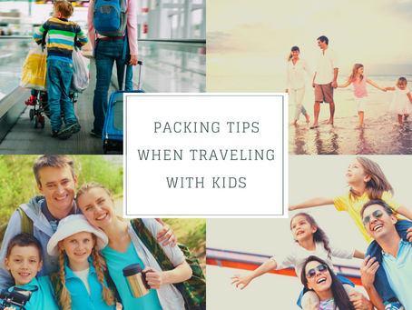 Packing Tips when Traveling with Kids