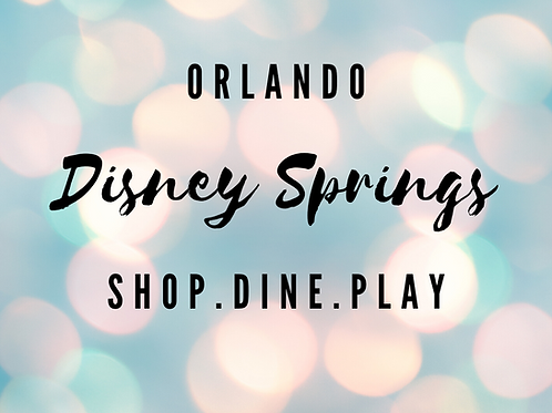 Orlando Disney Springs Local Scavenger Hunts
