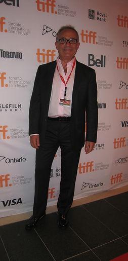 At Toronto Film Festival for screening of Last Night