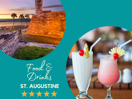 Food & Drinks in Historic St. Augustine