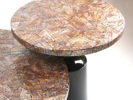 Bộ bàn trà khảm xà cừ Kaleidoscope
