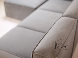 Bộ ghế sofa bọc nỉ 50 shades