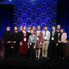 all of the cool people that were a part of the Junior Composers Concert at NAfME in Dallas, Texas