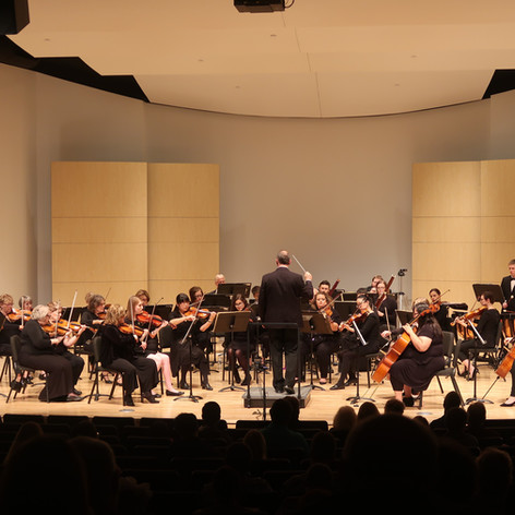 "Orchestra Omaha played my piece ""The Jocund Overture."""