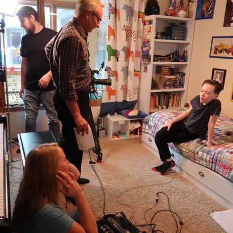 recording NET documentary segment