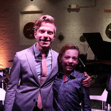 with conductor David Bloom in NY