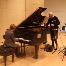 recording a piano piece