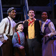 had a blast in this show (Newsies)