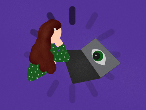 Sorry, you're breaking up... my existential angst over virtual 'connection'