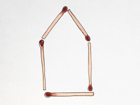'Matchstick house'
