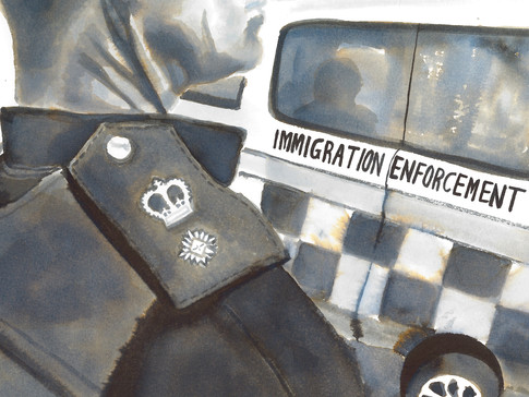 Let's imagine you wanted to seek asylum in the UK