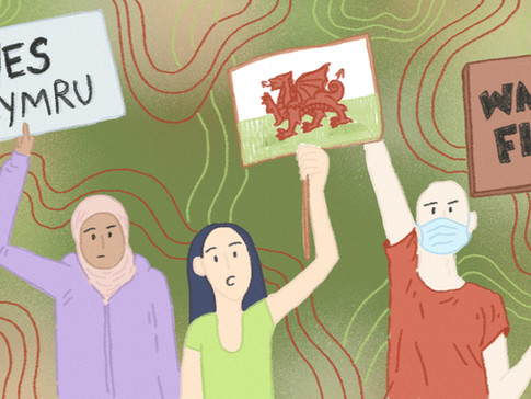 How the Coronavirus Pandemic has sparked an unprecedented discussion about Welsh Independence