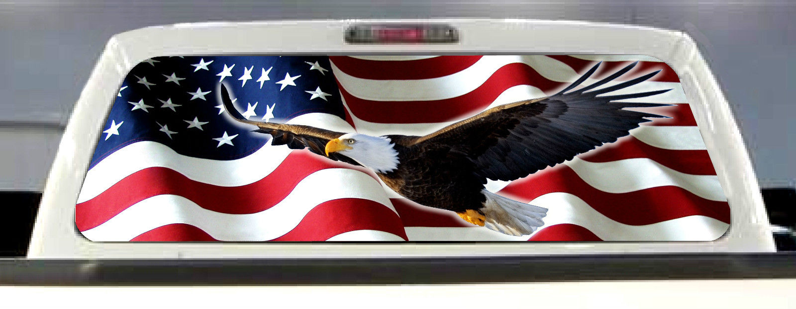 AMERICAN-FLAG-EAGLE-PICK-UP-TRUCK-REAR-W