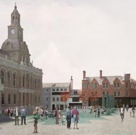 Public Realm town square