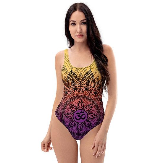 One-Piece Swimsuit Mandala