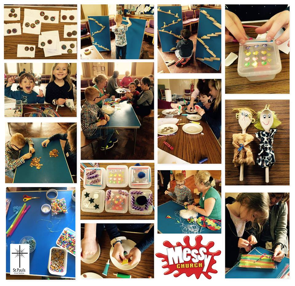 Messy Church May 2016