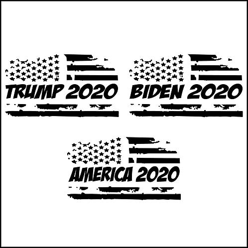 2020 Election Decals