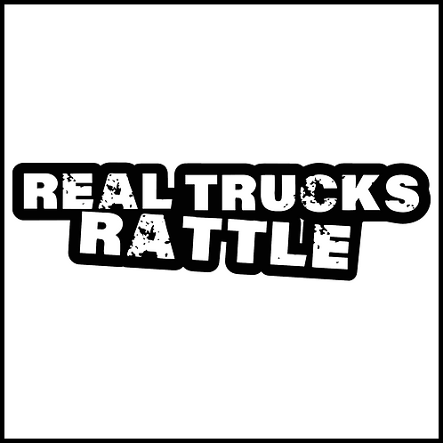 Real Trucks Rattle Decal