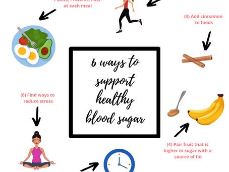 Six Ways to Achieve Healthier Blood Sugar