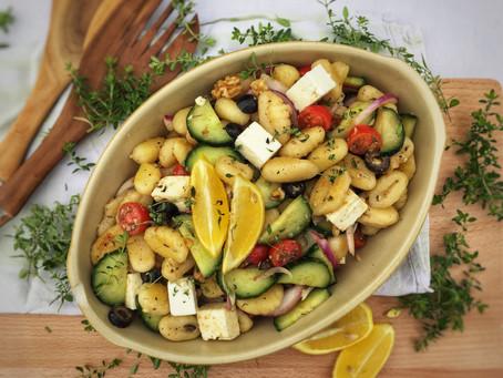 Greek-Style Gnocchi Salad