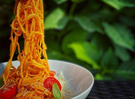 Spaghetti al Pesto Calabrese