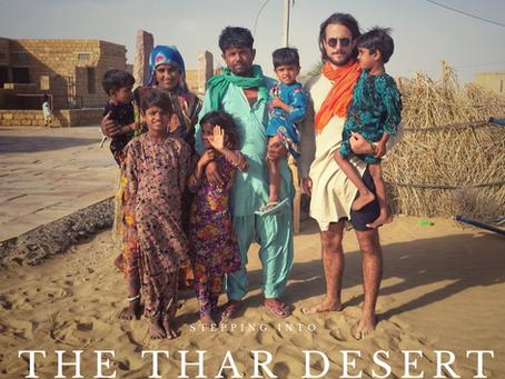 Stepping Into The Thar Desert