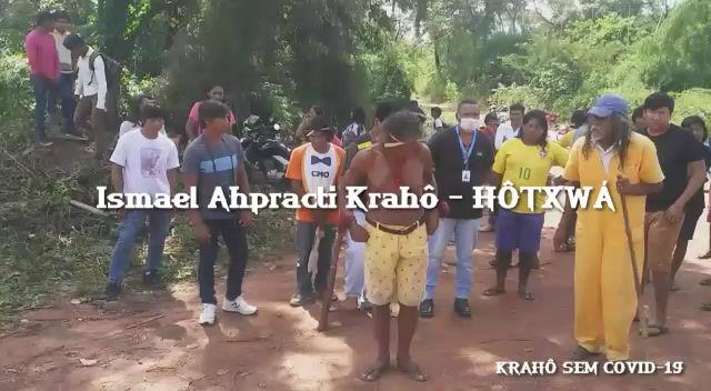 Chamado Krahô contra o COVID-19