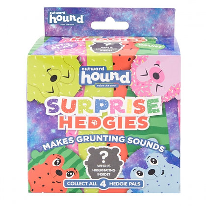 Surprise Hedgies Plush Dog Toy