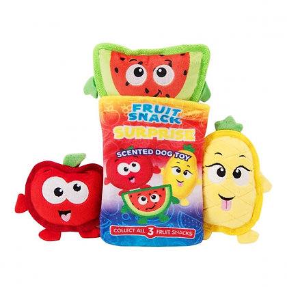Surprise Fruit Snack Dog Toy