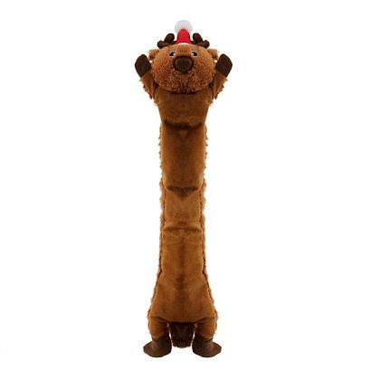Longidudes Holiday Reindeer Dog Toy