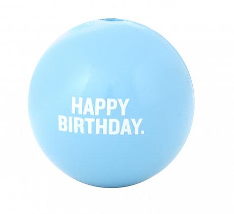 Orbee-Tuff Happy Birthday Ball Pink