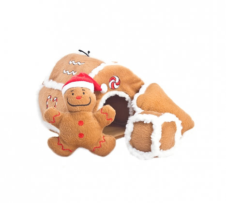 Gingerbread House Puzzle Plush