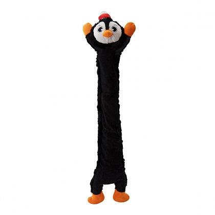 Longidudes Holiday Black Penguin Dog Toy
