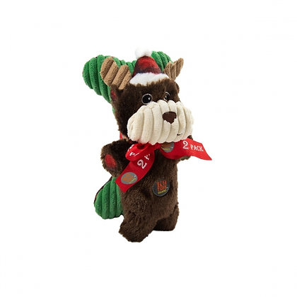 Snuggle Babies Holiday Moose and Bone - 2 Pack