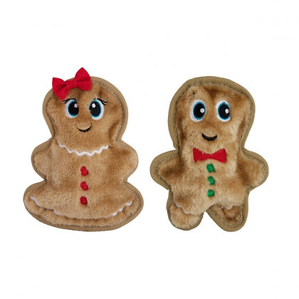 Invincibles Mini Gingerbread Plush Dog Toys