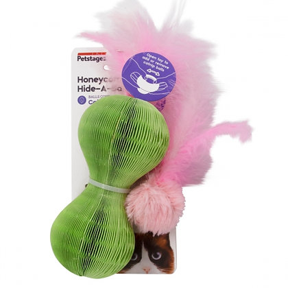 Honeycomb Hide-A-Ball Cat Toy