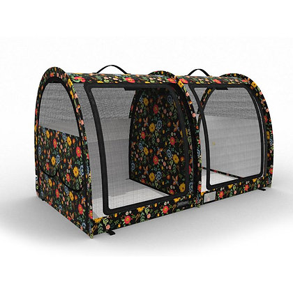 LE Pop-Up Kennel - CarGO Small, Double, Mesh Doors