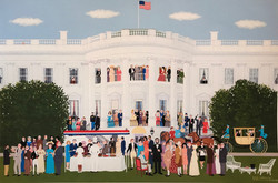 Cocktails at the White House by Dick LaB