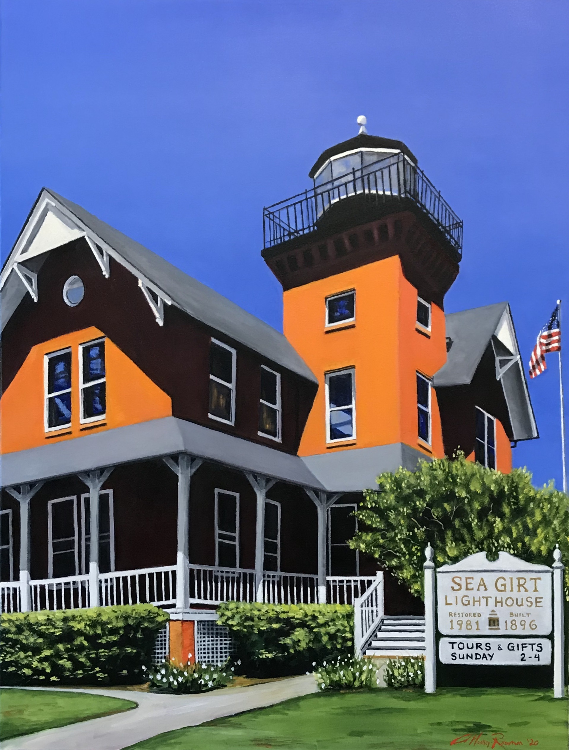 """Sea Girt Lighthouse"""