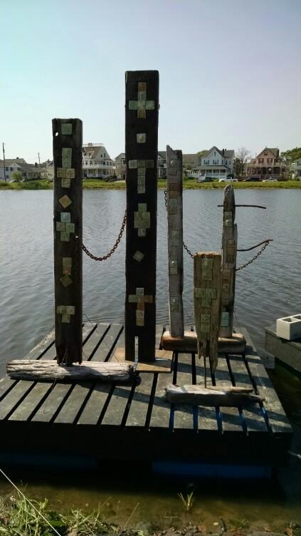 Coastal Chaos Totems (Belmar 2014)