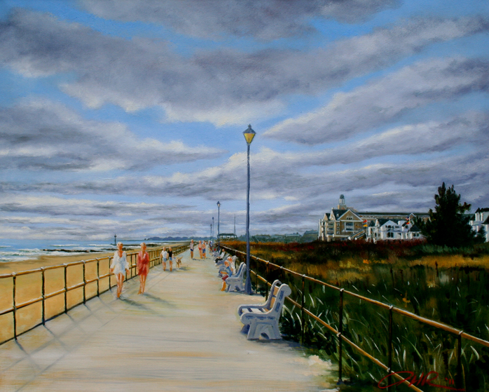 """Spring Lake Boardwalk"""