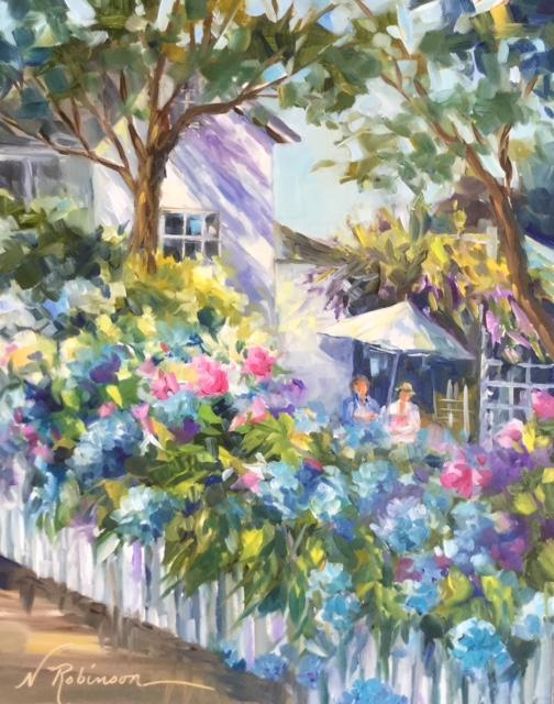 Summer Hydrangeas, Nantucket