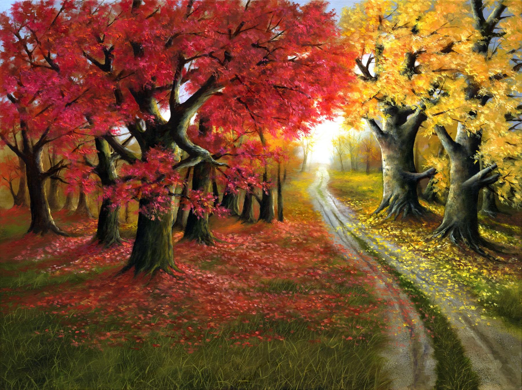 Autumn Splendor by H. Hargrove