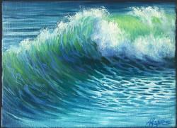 Wave on Black